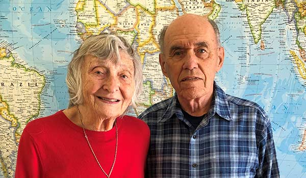 Victor and Mary Krueger, donors for Society of the Divine Word