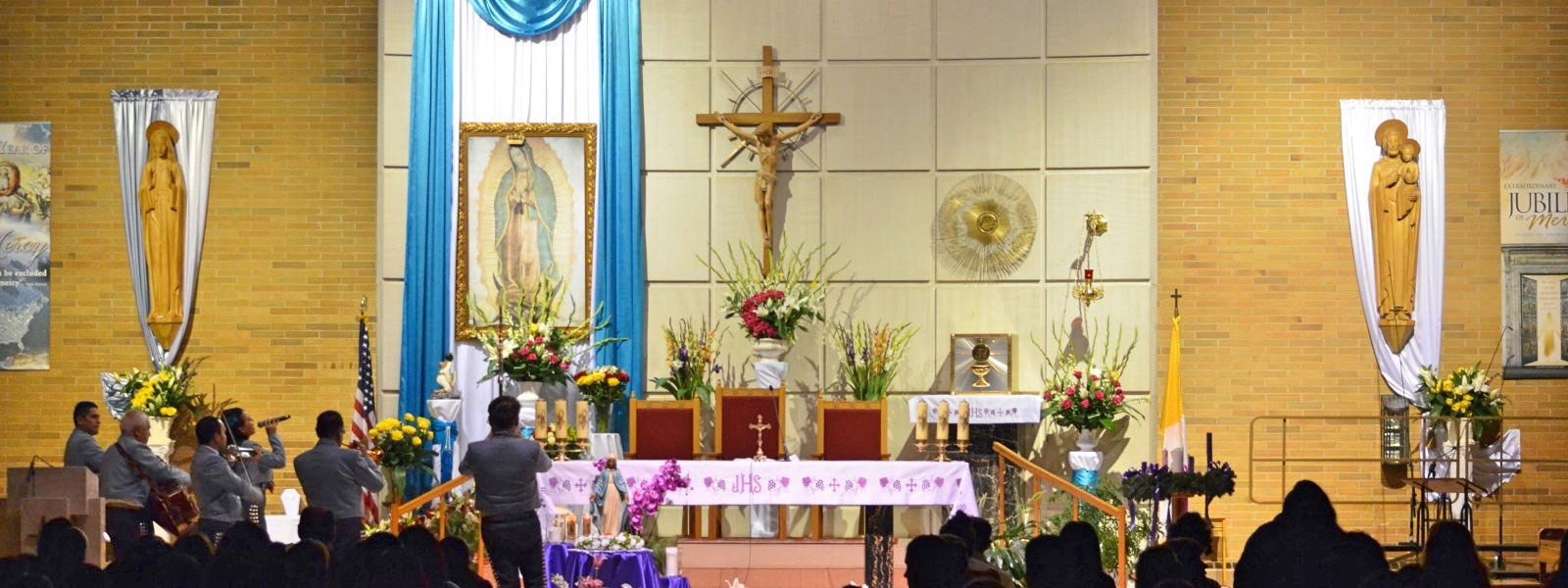 Our Lady of Guadalupe celebration – Whiling, IL St Joseph the Worker Parish